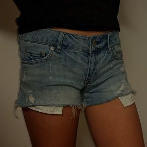 Aeropostale Denim Shorts sz 3/4